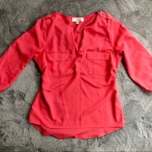 Pink/Coral blouse